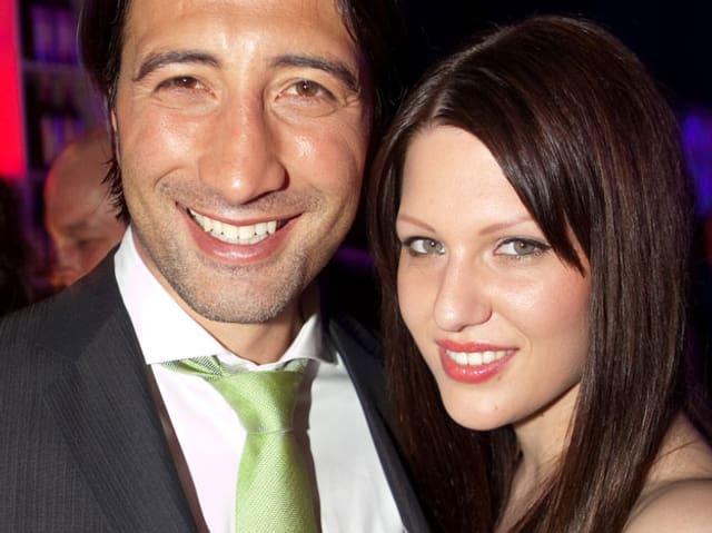 Murat Yakin und Anja Müller
