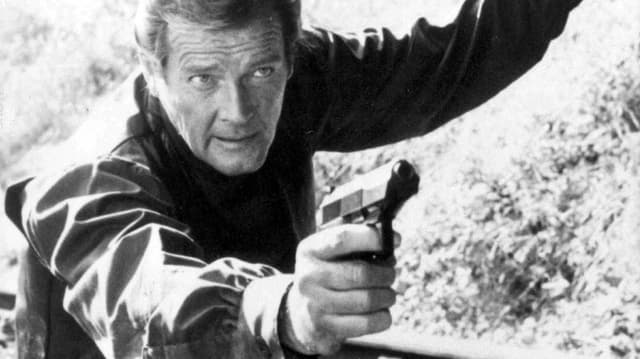 Roger Moore in «Octopussy».