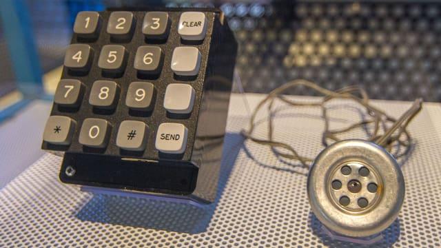 Tastatur für Zahlen sind verbunden mit einem Lautsprecher