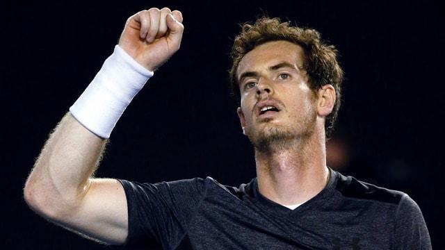 Andy Murray suenter il gieu cunter Bernard Tomic