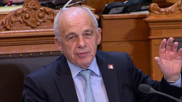 Finanzminister Ueli Mauer: «22 Kantone haben diesem Kompromiss zugestimmt.»