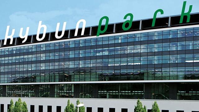 St. Galler Fussballstadion neu als Kybunpark beschriftet.