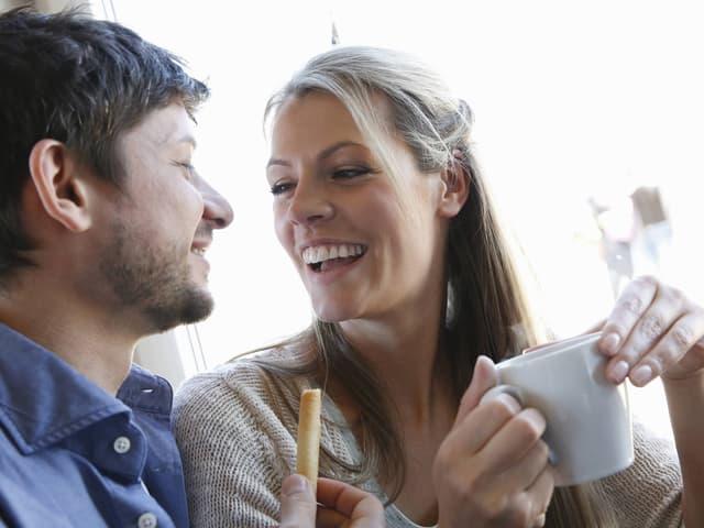Frauen flirt gesten