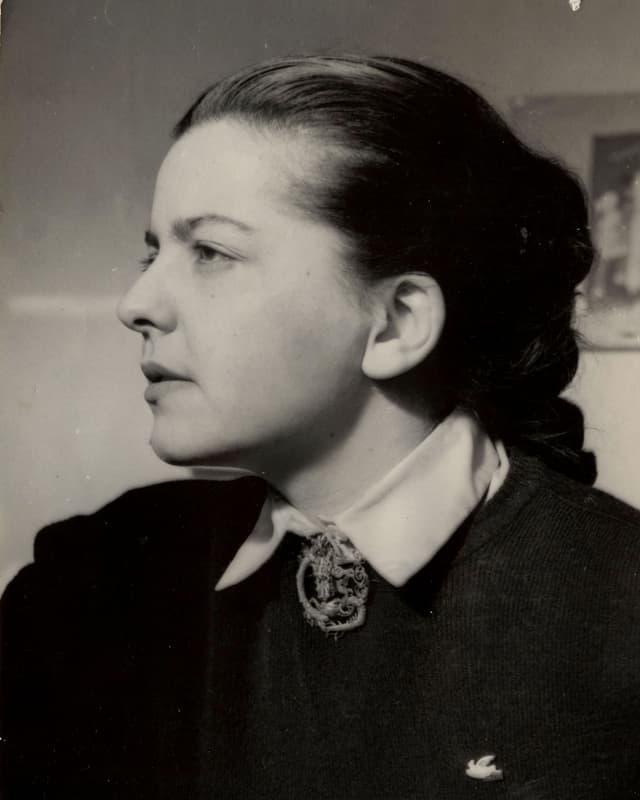 Madeleine Riffaud mit 20 Jahren.