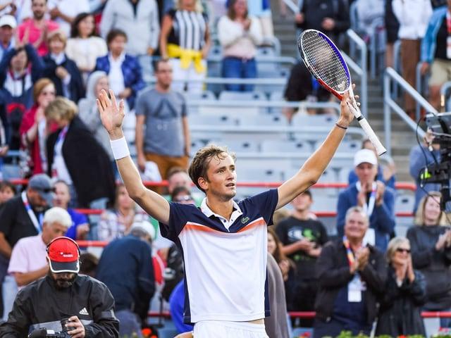 Daniil Medwedew zog sowohl in Montreal als auch in Washington in den Final ein.