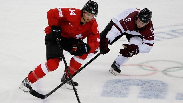 Roman Wick wird mit der Schweiz wieder auf Lettland treffen.