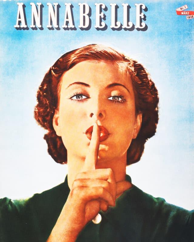 Titelblatt der Annabelle 1938