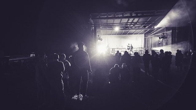 Band suna al Open Air Sur l'Aua