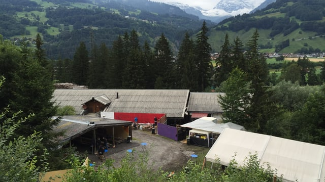 Il venderdis suentermezdi è l'areal dal Polenta Jam anc vits - sur la fin d'emna vegn spetgà qua radund 600 persunas.