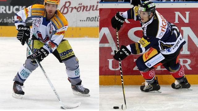 Jacob Micflikier (links) und Yannick Blaser.