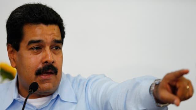 Der venezolanische Präsident Nicolás Maduro.