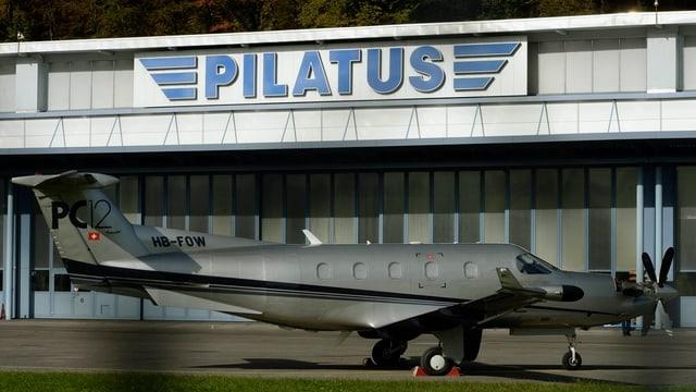 Der Hauptsitz der Pilatus-Werke in Stans.