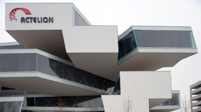 Fassaden-Ansicht des Pharma-Unternehmens Actelion