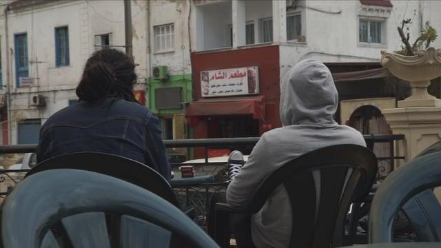 Jugendliche in Tunis
