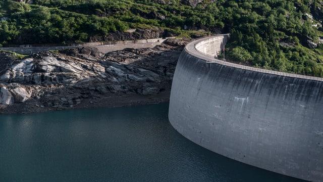 Ovras idraulicas Zervreila ston pajar dapli a las organisaziuns d'ambient.