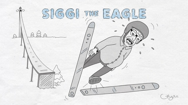Caricatura da Sigi Asprion.