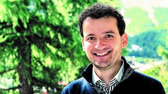 Il turisticher Pascal Schär.