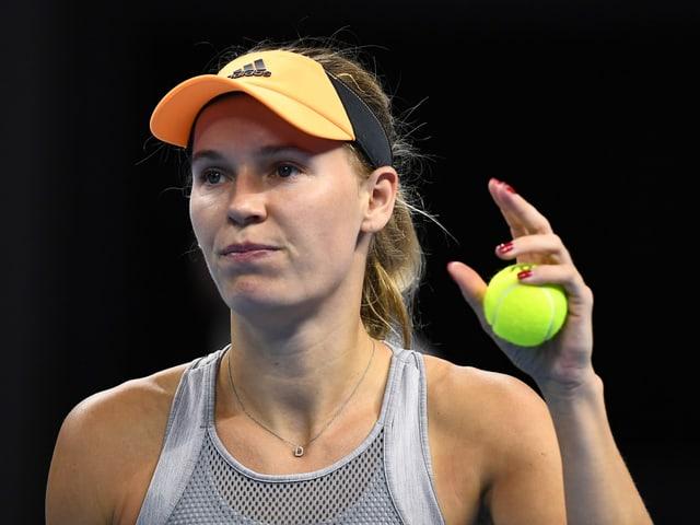 Tennisspielerin.