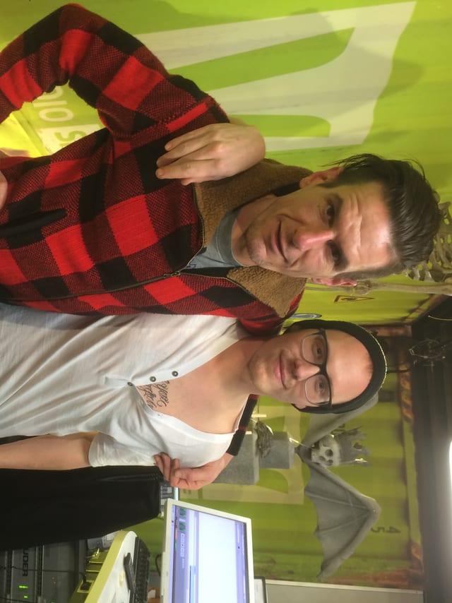 Urban Junior live im Studio mit Dominique Iten.