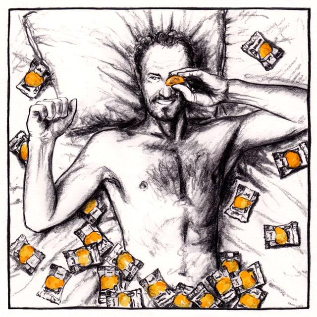 Illustraziuns da Reto Schmid.