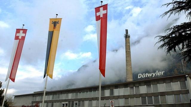 Industriegebäude in Altdorf.