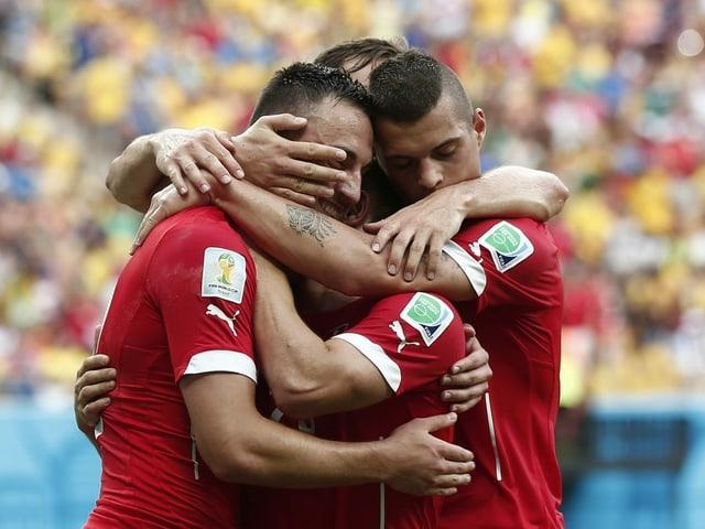 Am Sonntag wird der Schweizer Fussball gefeiert.
