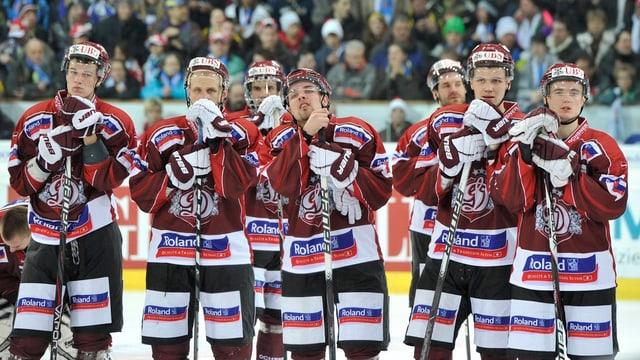 Il club da hockey Dinamo Riga.