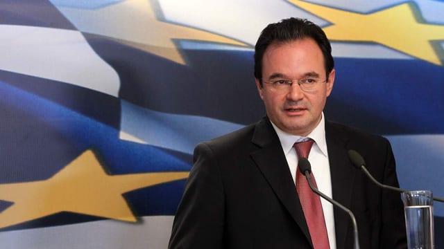 Der ehemalige griechische Finanzminister  Giorgos Papakonstantinou.