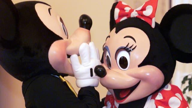Micky und Minnie Mouse