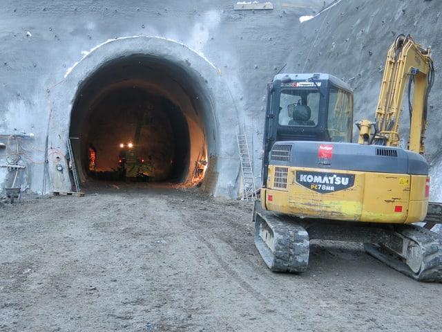 Das Tunnelportal