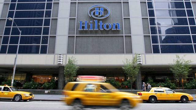 Hilton-Hotel in New York
