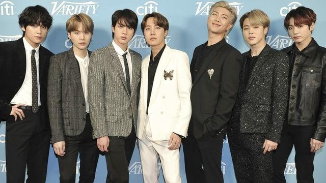 Die K-Pop-Band «BTS»