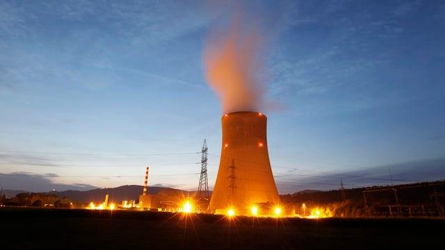 Kernkraftwerk Goesgen.