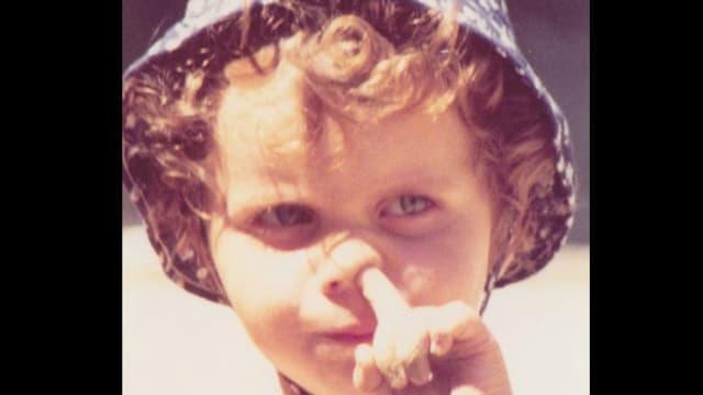 Adrian Küpfer als Kind.