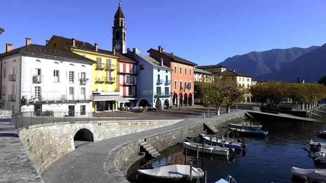 La riva d'Ascona.