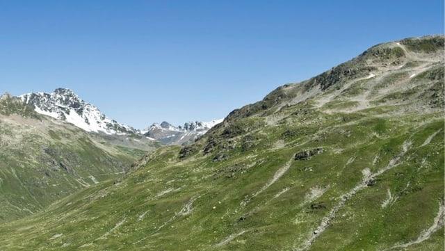 Landschaft, Blick von Keschhütte aus