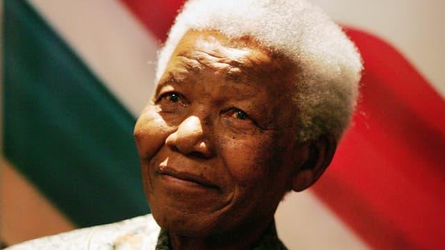 Porträt von Nelson Mandela