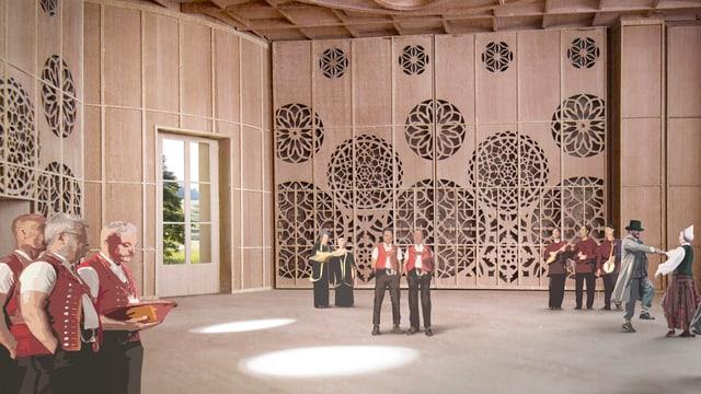 Visualisierung Klanghaus Toggenburg