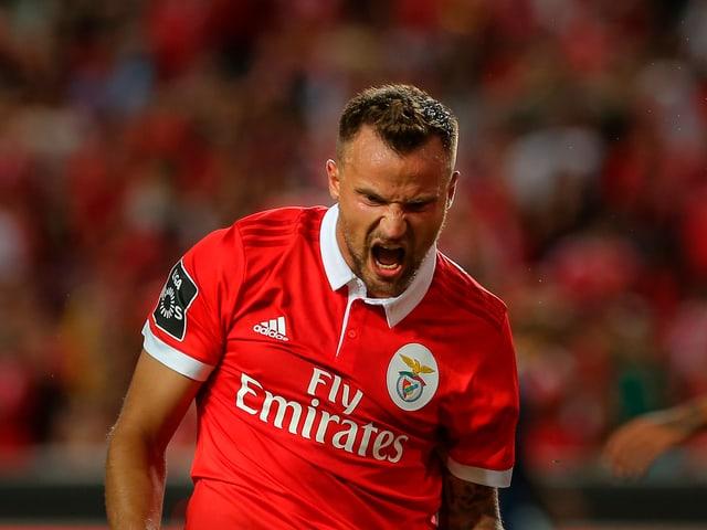 Haris Seferovic schreit seinen Frust heraus.