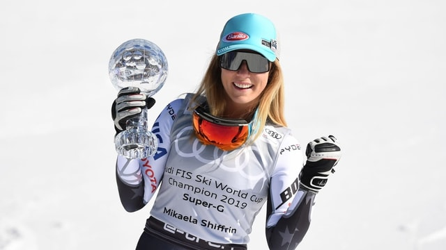 La skiunza Mikaela Shiffrin.