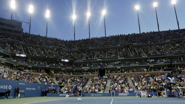 Der Spielplan wird 2013 an den US Open um einen Tag verlängert.