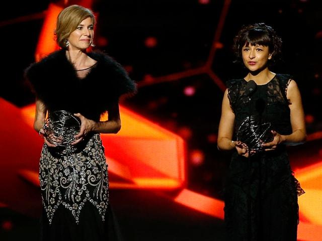 Emmanuelle Charpentier (L.) und Jennifer Doudna