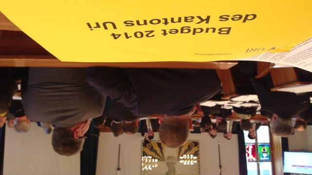Budgetdebatte im Urner Landrat.