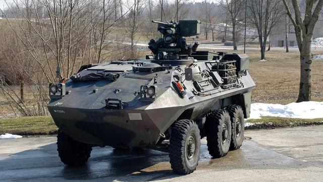 Der Radschuetzenpanzer Piranha Kdo 93/99