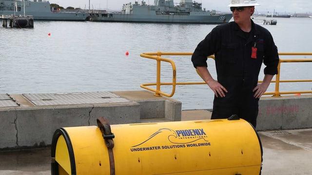 Detektor von «Ocean Shield»