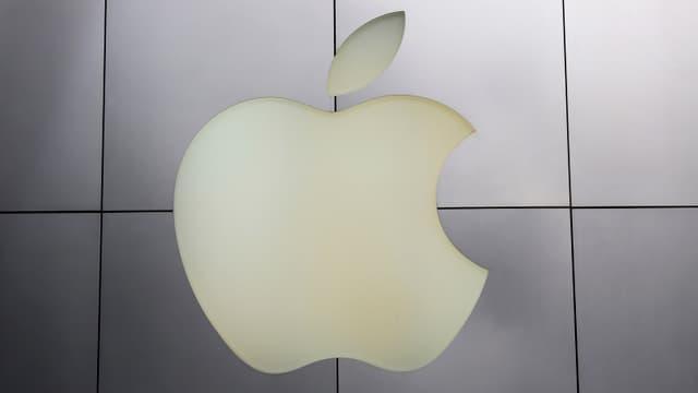 Das Apple-Firmenlogo