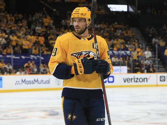 Nashville-Captain Roman Josi.
