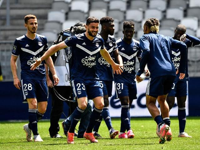 Girondins Bordeaux Jubel