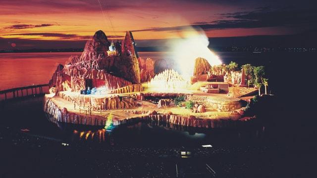 Das Bühnenbild von «Zauberflöte».