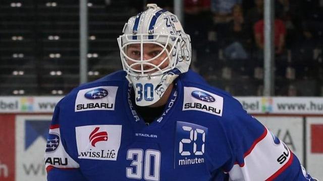 ZSC-Goalie Lukas Flüeler.